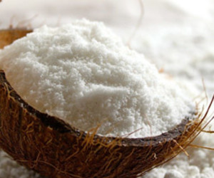 desiccated coconut and desiccated coconut powder image