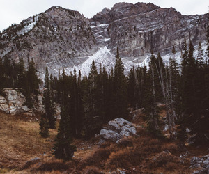 mountains, nature, and pretty image