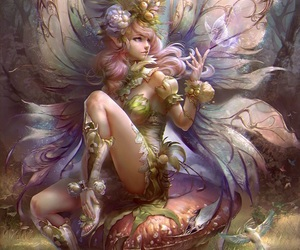 fantasy, fairy, and art image
