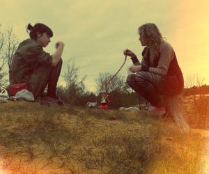 girls, hippie, and indie image