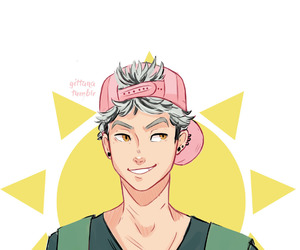 haikyuu, anime, and bokuto koutaro image