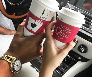 love, coffee, and goals image