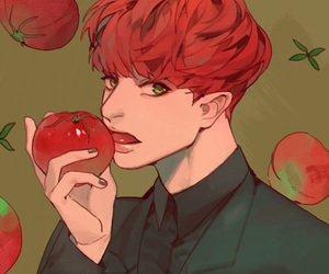 apple, exo, and red image