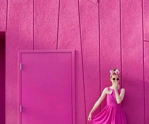 pink and girl image