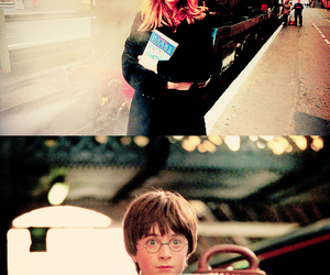 daniel radcliffe, rowling, and harry potter image