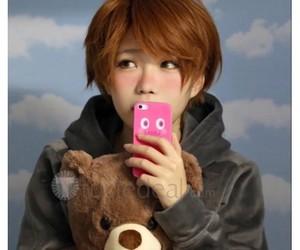 anime cosplay wig, yuri on ice cosplay, and guang hong ji wig image
