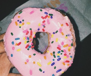 aesthetic, donut, and food image