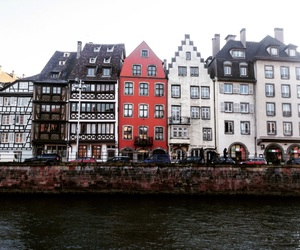 beautiful, Houses, and Strasbourg image
