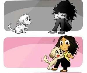 love, dog, and mascota image