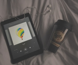 coffee, music, and bts image
