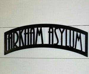 Arkham Asylum and Gotham image