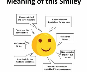 funny, quotes, and smiley image