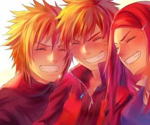 family, naruto, and red hair image