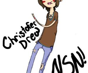 christofer drew, draw, and drawing image
