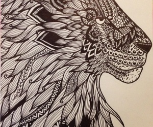 dibujos, zentangle art, and mandalas image