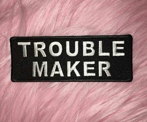 pink, trouble, and maker image