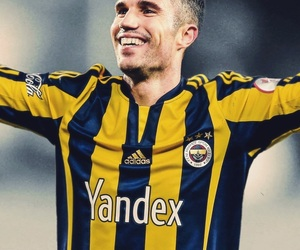 football, wallpaper, and robin van persie image