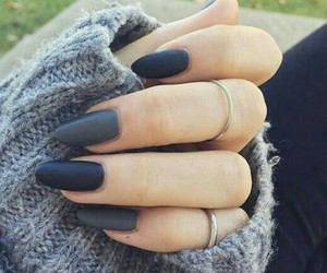 nails, nail art, and winter image
