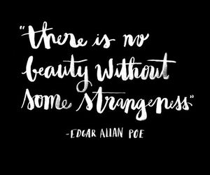 beauty, quotes, and strangeness image
