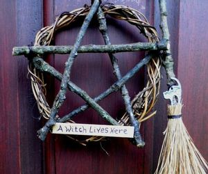 witch, wicca, and Halloween image
