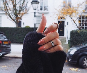 london, nails, and beauty image