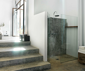 bedroom, interior, and shower image