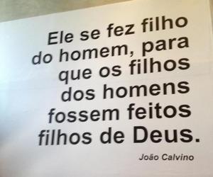dEUS, joão calvino, and calvino image