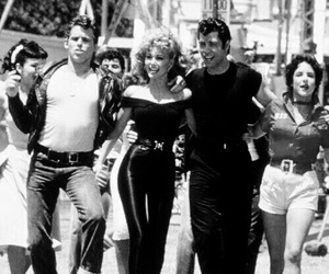 grease, John Travolta, and movie image