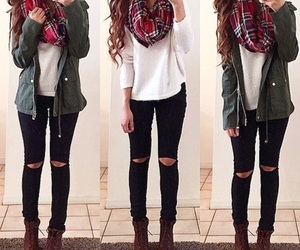 cozy, fashion, and jeans image