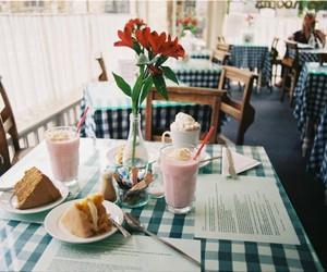 vintage, flowers, and food image