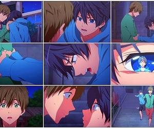anime, free!, and free! starting days image