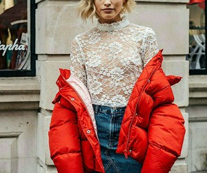 jacket, streetstyle, and fashion image