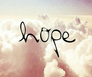 hope, clouds, and sky image