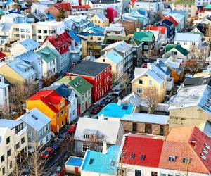 beautiful, cities, and iceland image