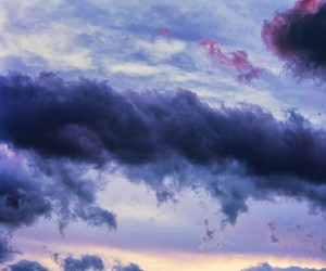 clouds and nature image