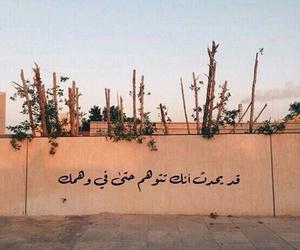 arabic, عربي, and وهم image