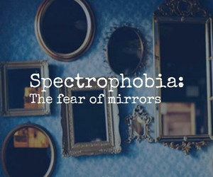 fear, mirror, and phobias image