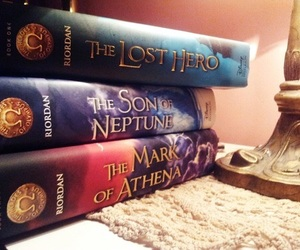 books and the heroes of olympus image