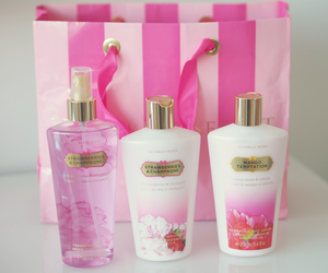 lotion and pink image