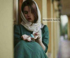 حجاب, green, and hijab image
