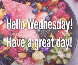 great day, fruit, and wednesday image