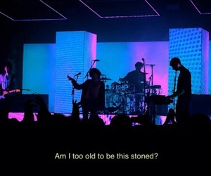 the 1975, concert, and Lyrics image
