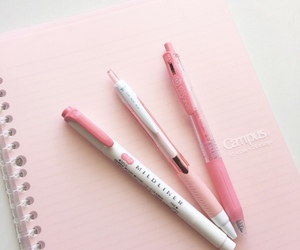 pen and pink image