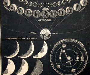 alchemy, magic, and moon image