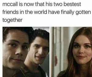 teen wolf, stiles stilinski, and lydia martin image