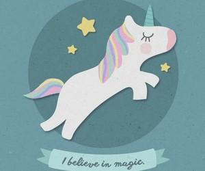 unicorn, wallpaper, and magic image