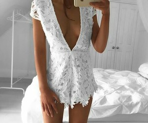 fashion, body suit, and jumpsuit image