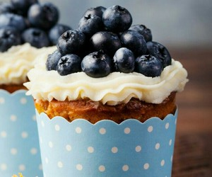 blue, blueberry, and delicious image
