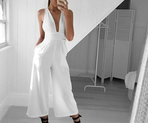 chic, outfit, and roomper image
