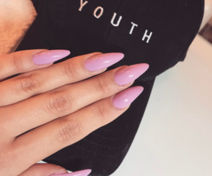 dope, nails, and girl image